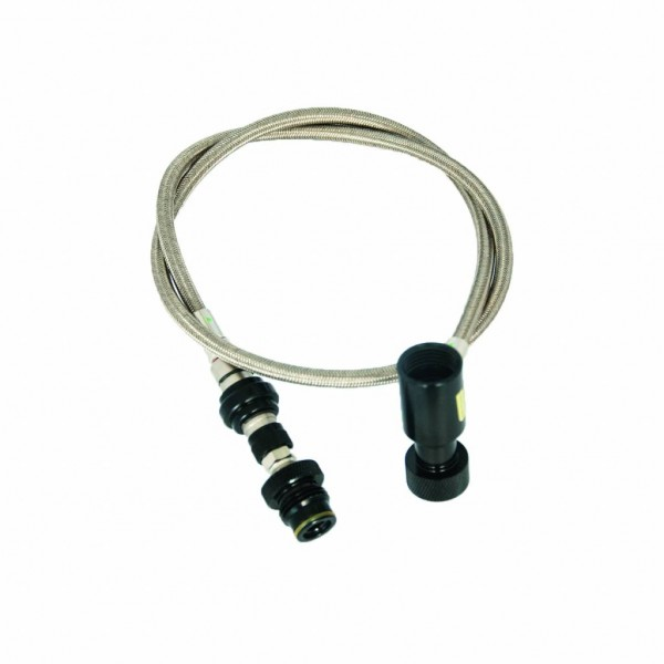 REMOTE HOSE STEEL WITH BLEEDER