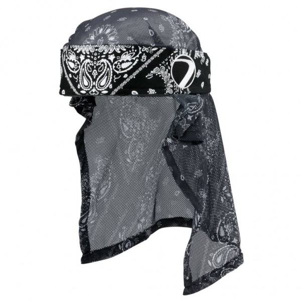 HEADWRAP BANDANA BLACK