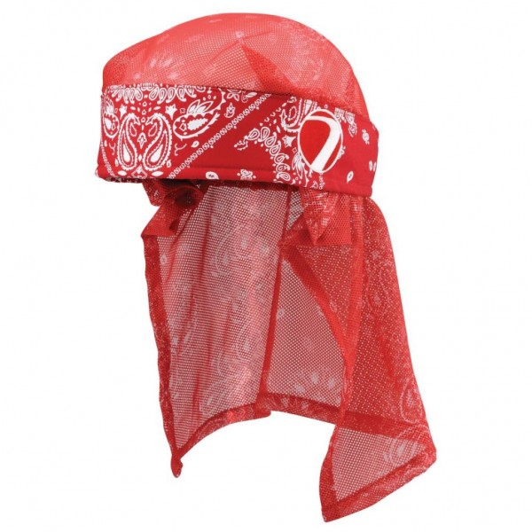 HEADWRAP BANDANA RED